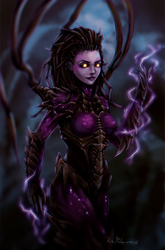 Queen of Blades - Kerrigan (with video)