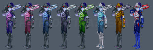Widowmaker Classic Skin (with video)