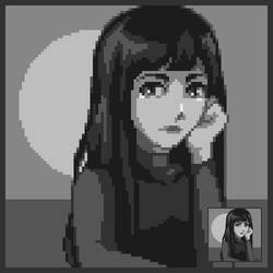 Pixel dailies Self portrait Yearbook (with video)