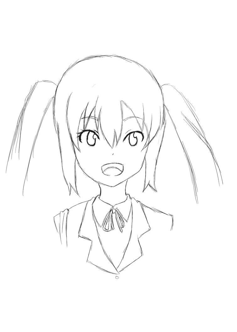 Azusa sketch #1 by Miniomegaxis