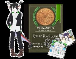 [ V ] Oscar Pendragon by seiruruuu