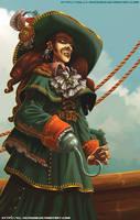 - Pirate - by sergio-quijada