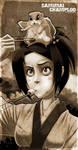 - Fuu and Momo-chan - by sergio-quijada