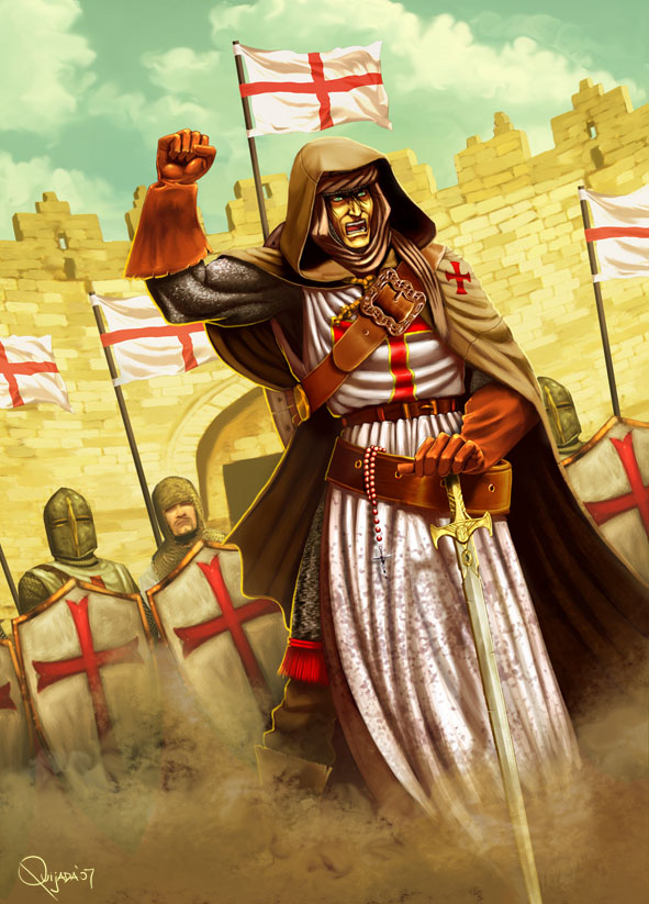 - Knight Templar - by sergio-quijada