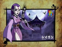 - Teen Titans ikuzo - Raven by sergio-quijada
