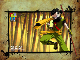 Teen Titans: ikuzo - Robin by sergio-quijada