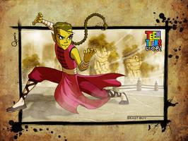 - Teen Titans: ikuzo- BeastBoy by sergio-quijada