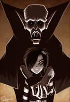 - Alicia - vampire girl by sergio-quijada