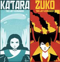 - Katara and Zuko - by sergio-quijada