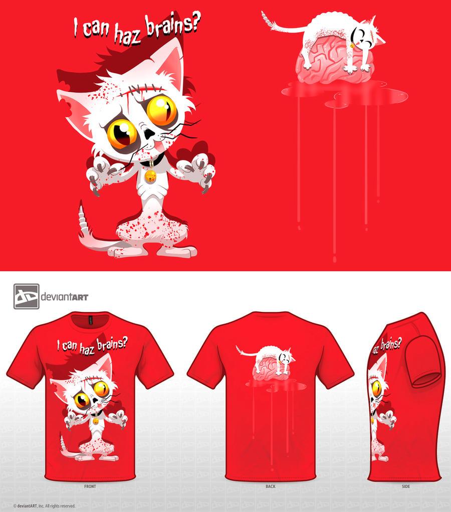 - Zombie Kitty - by sergio-quijada