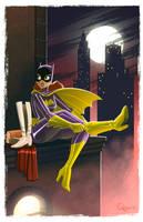 - Batgirl - by sergio-quijada