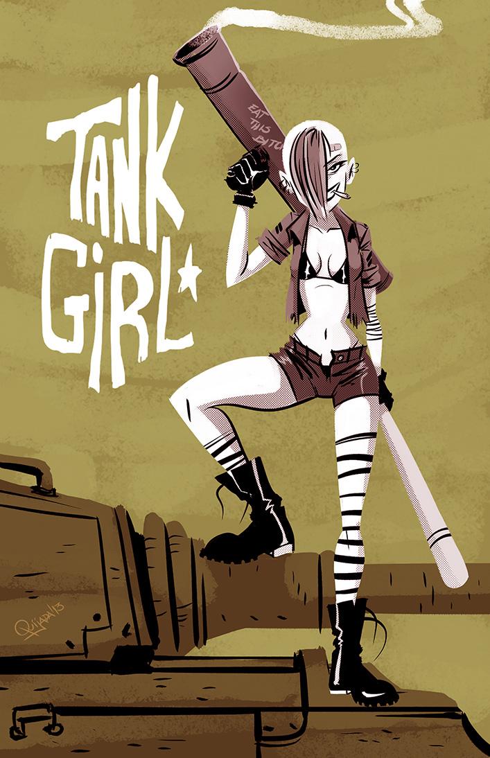 - Tank Girl - by sergio-quijada
