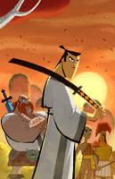 - Samurai Jack - Cover by sergio-quijada