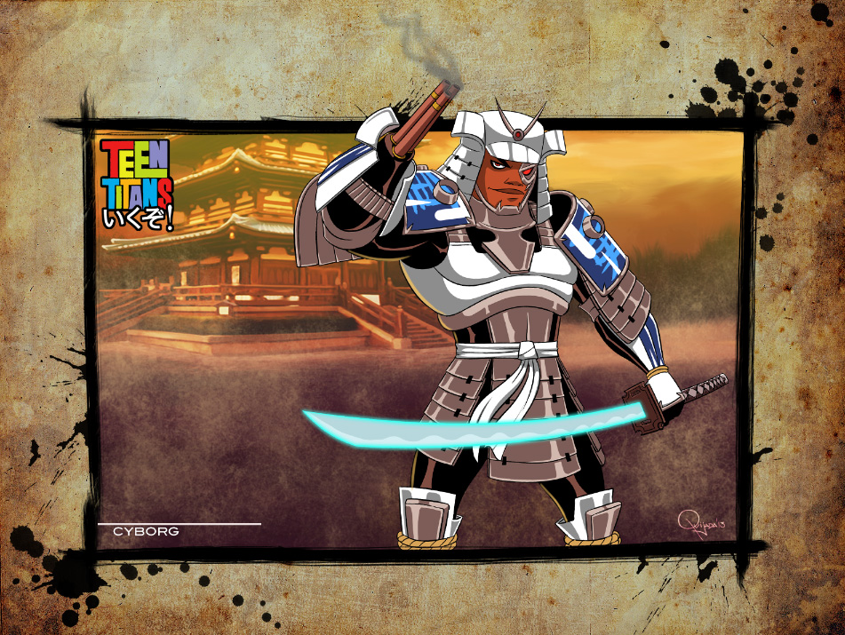 Teen Titans: ikuzo - Cyborg by sergio-quijada