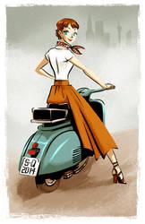 - Audrey Hepburn + video by sergio-quijada