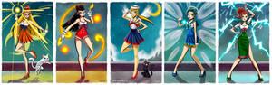 - Retro Sailor Scouts -