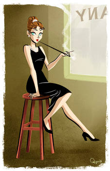 - Audrey Hepburn - Breakfast at Tiffany's