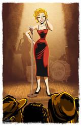 - Marilyn Monroe - by sergio-quijada