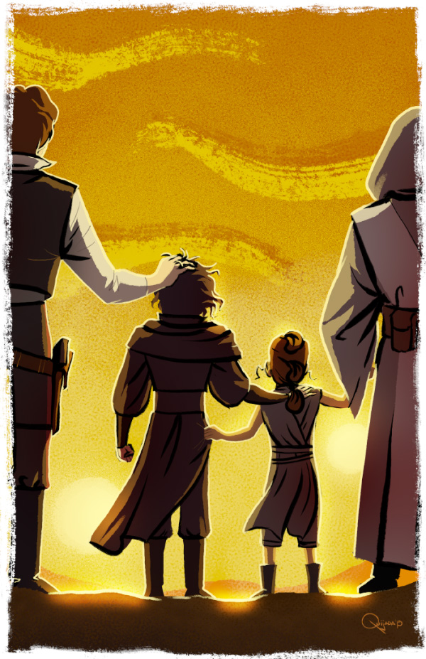 - The Force Awakens - by sergio-quijada