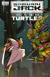 - Samurai Jack Vs TMNT -