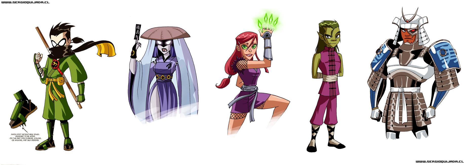 - Teen Titans - EDO Period by sergio-quijada