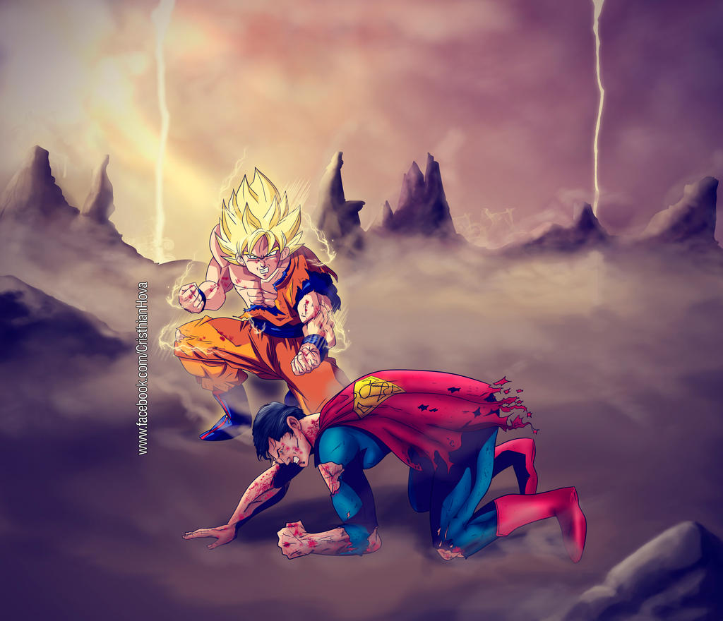 goku vs superman by CristhianHova on DeviantArt
