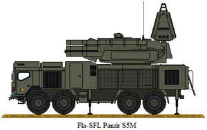 Fla-SFL Panzir S5M