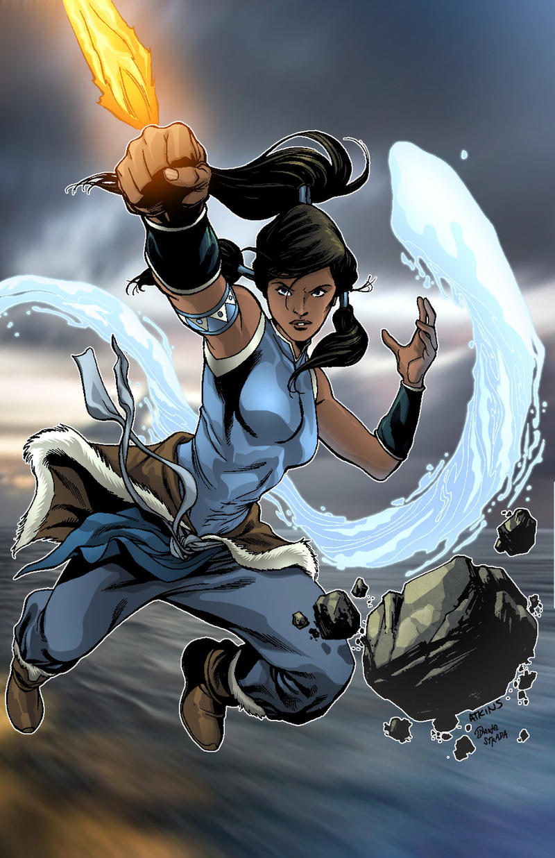 The Legend Of Korra by D-Strada