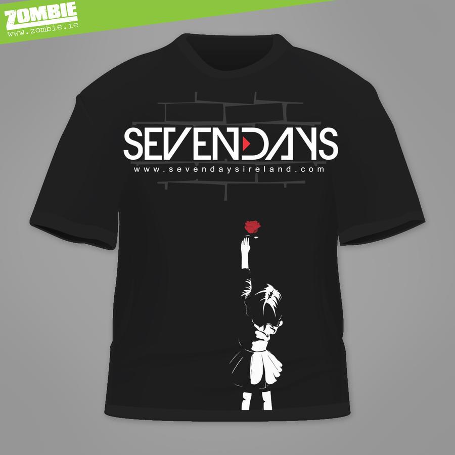 Sevendays TShirt by ZOMBIEie