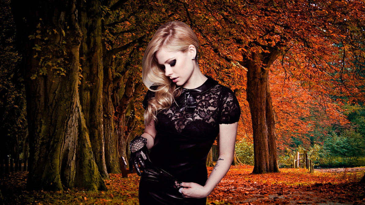 avril lavigne wallpaper hdmaarcopngs on deviantart