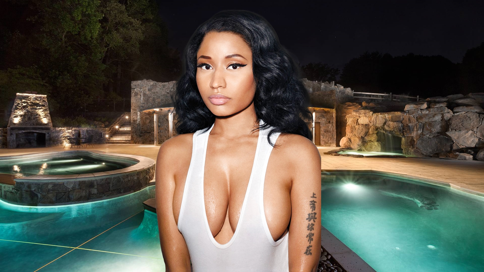 Nicki Minaj Wallpaper Hd By Maarcopngs On Deviantart