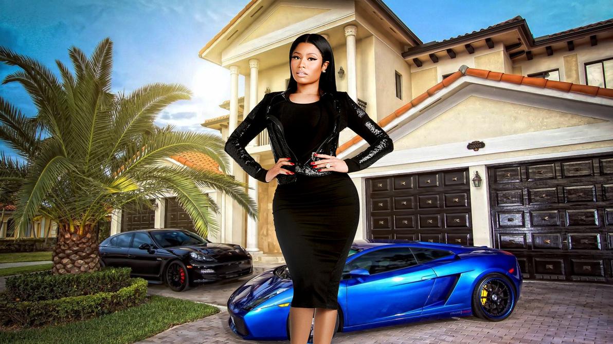 Nicki Minaj Car 2016