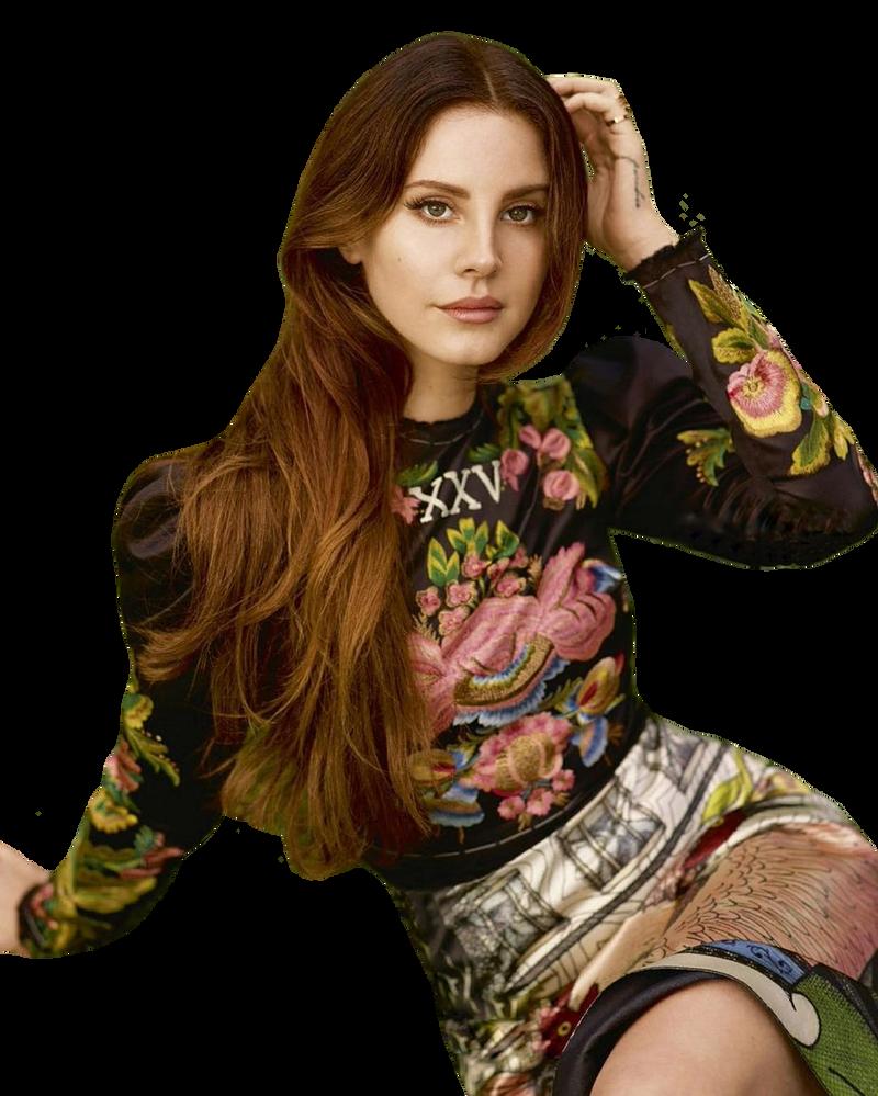 Lana del Rey PNG by maarcopngs
