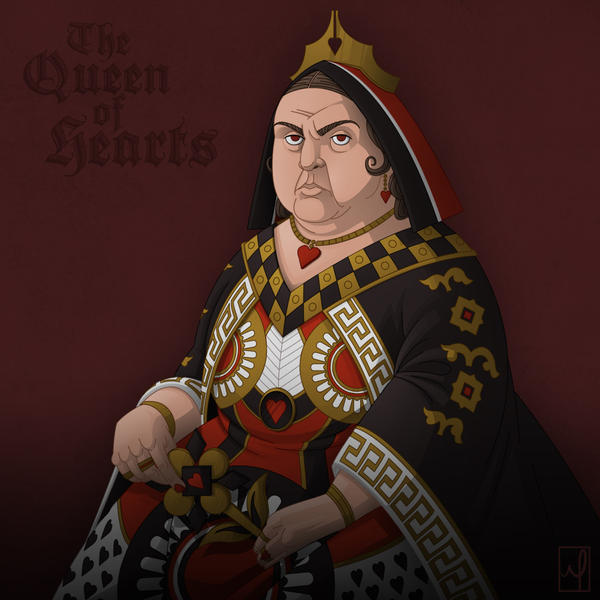 The Queen Of Hearts by mscorley