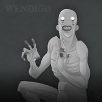 The Wendigo by mscorley