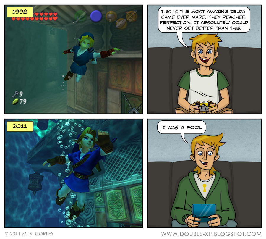 Link's Return by mscorley