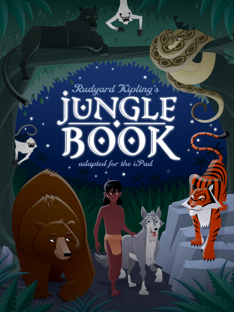 The Jungle Book Cover Art ~ The jungle book for ipad by mscorley on deviantart