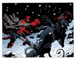 Hellboy VS Krampus