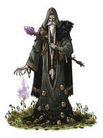 Blighted Druid by mscorley