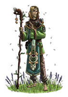 Clerical Elf by mscorley