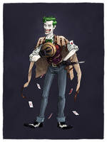 The Joker by mscorley