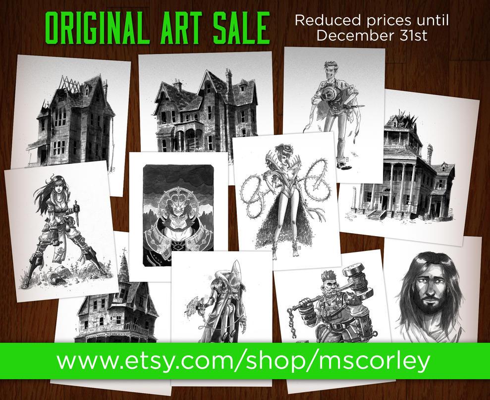 Art Sale by mscorley