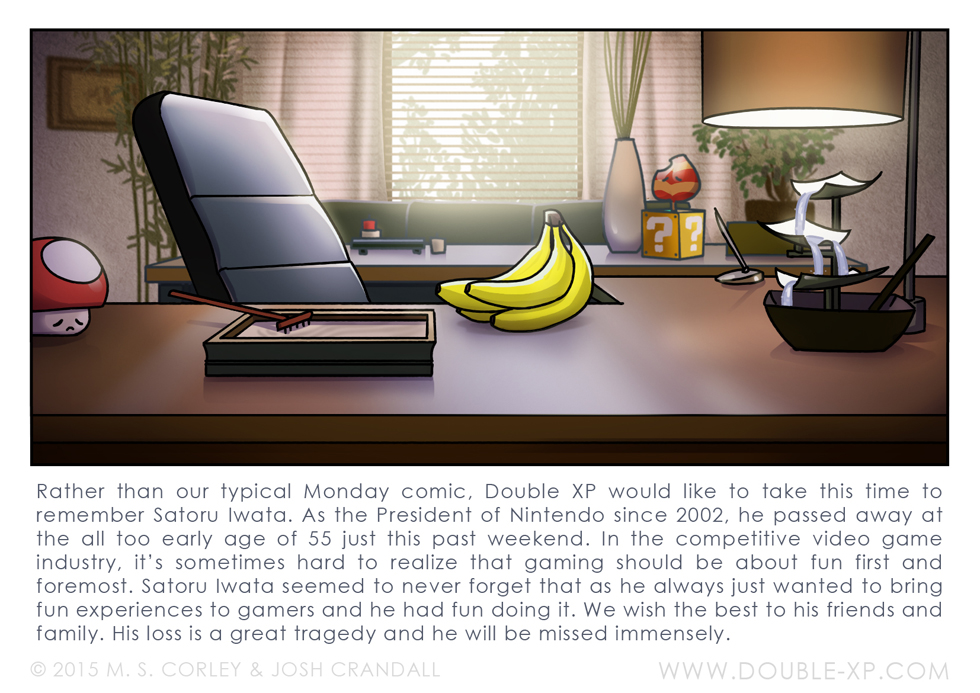 R.I.P. Iwata by mscorley