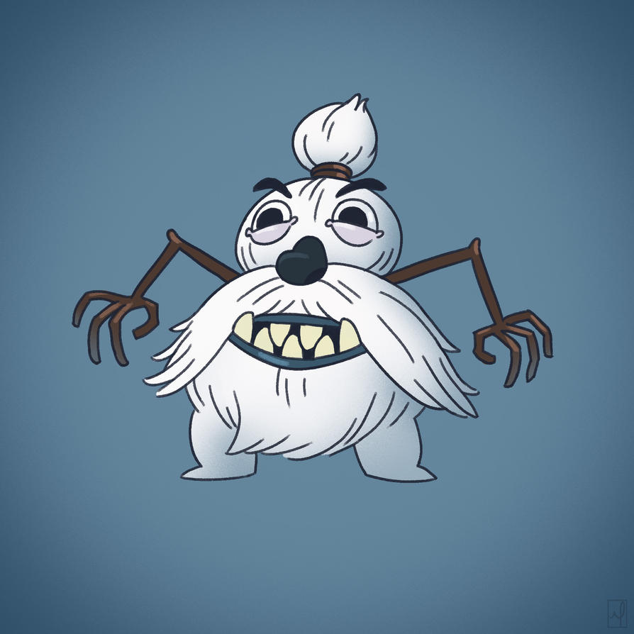 Abominable Snowman by mscorley