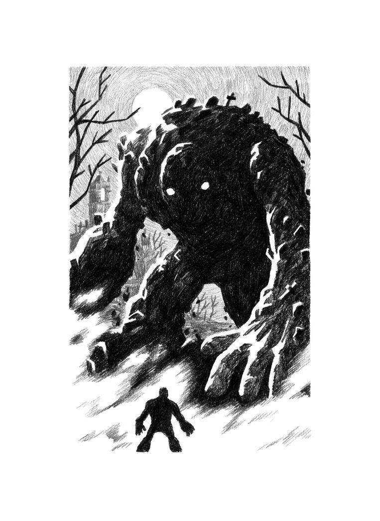 Graveyard Giant by mscorley