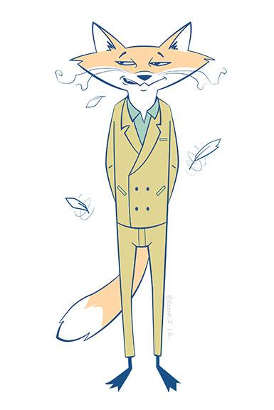 Fantastic Mr Fox By Sketchbrooks On Deviantart