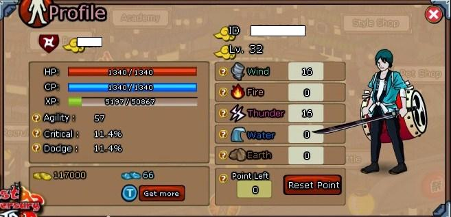 my ninja saga character :D by sanntt