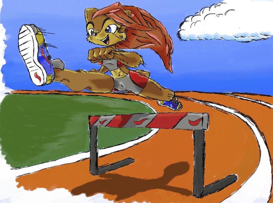 Sally in the Olympics by Alamnor
