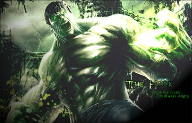 Hulk by demolibium