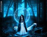 The White Druid by demolibium